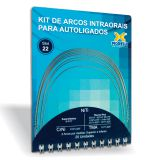 Kit de Arcos Intraorais para Autoligado