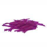 Elástico Ligadura Modular Uva Cristal